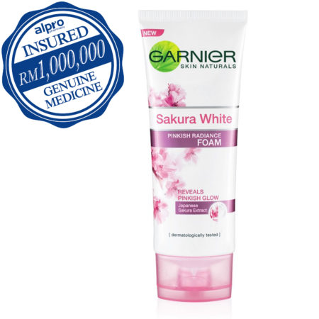 Garnier Sakura White Foam 100ml