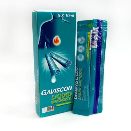 Gaviscon Peppermint (sachet) 10ml 5s