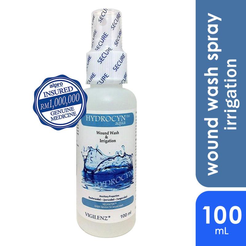 Vigilenz Hydrocyn Aqua Wound Care Spray Mist 100ml