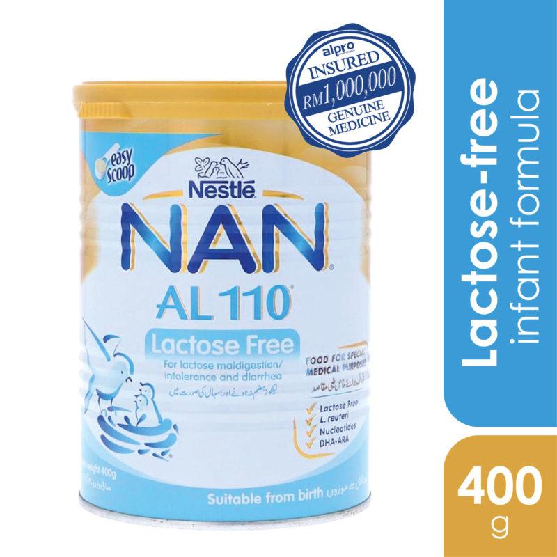 Nestle Nan Al110 Lactose-free 400g