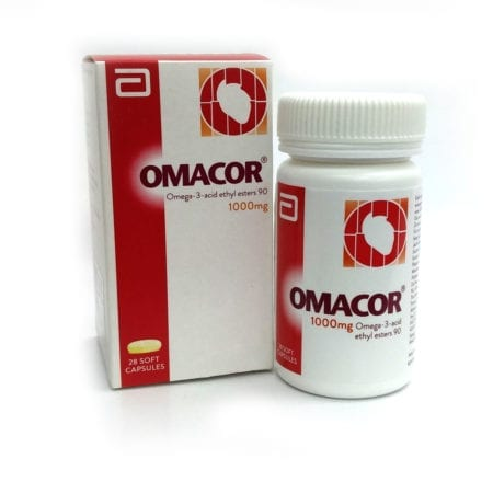 Omacor Omega-3 1000mg 28s