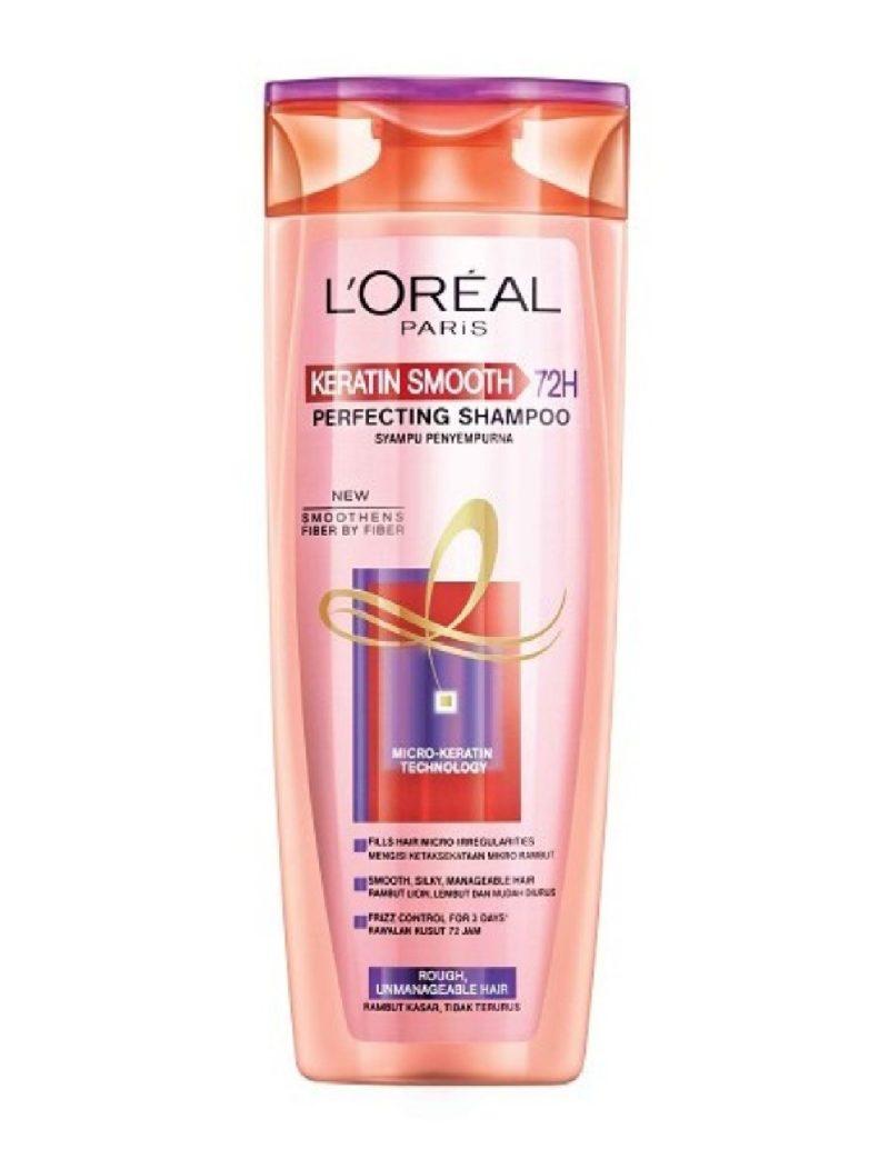 *loreal Paris Keratin Smooth Shampoo 72h 330ml