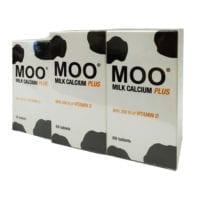 Thc Moo Milk Calcium Plus 1600mg 2x60s W/30s