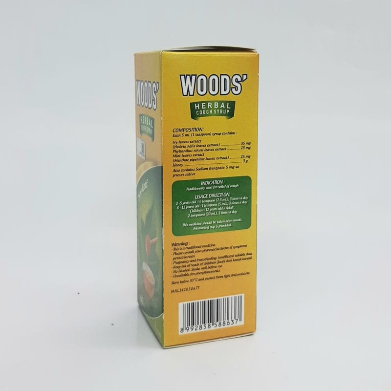 Woods Herbal Cough Syrup 60ml