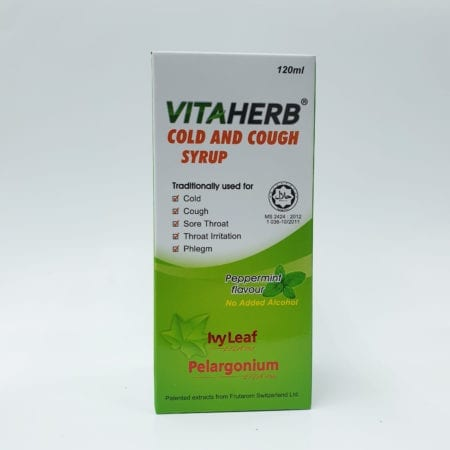 Vitaherb Cold And Cough Syrup 120ml