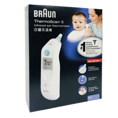 Braun Thermoscan Ear Thermometer (irt 6030)