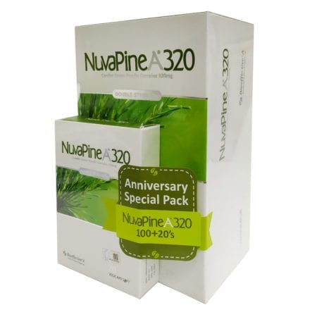 Nuvapine A 320mg 100s W/20s