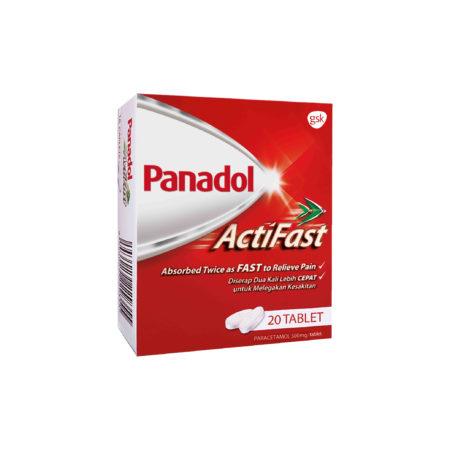 Panadol Actifast 20/bx
