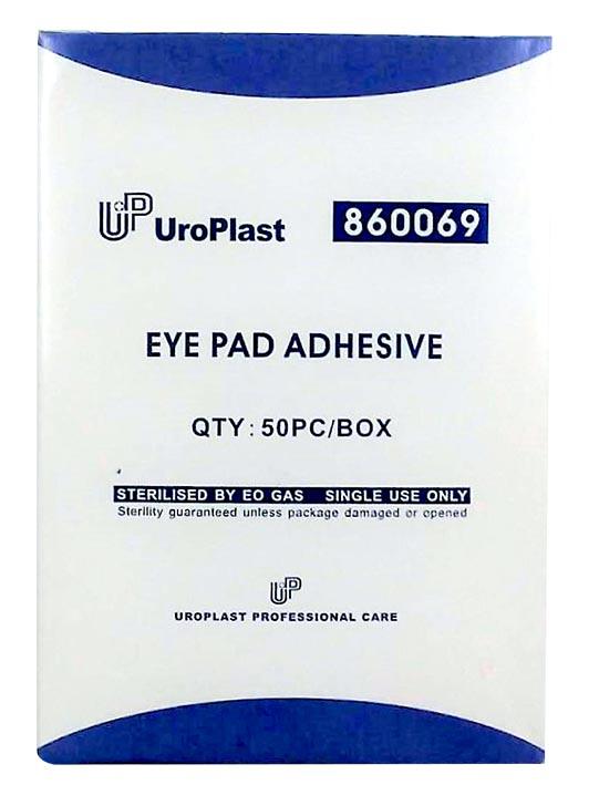 Uroplast Eye Pad Sterile Adhesive (860069) 50s
