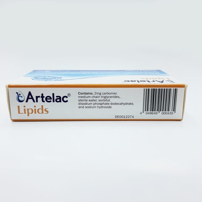 Artelac Lipids Eye Drops 30x0.6g