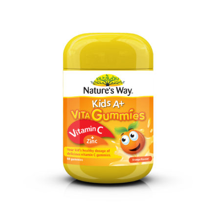 Natures Way Gummies With Vitamin C 60s