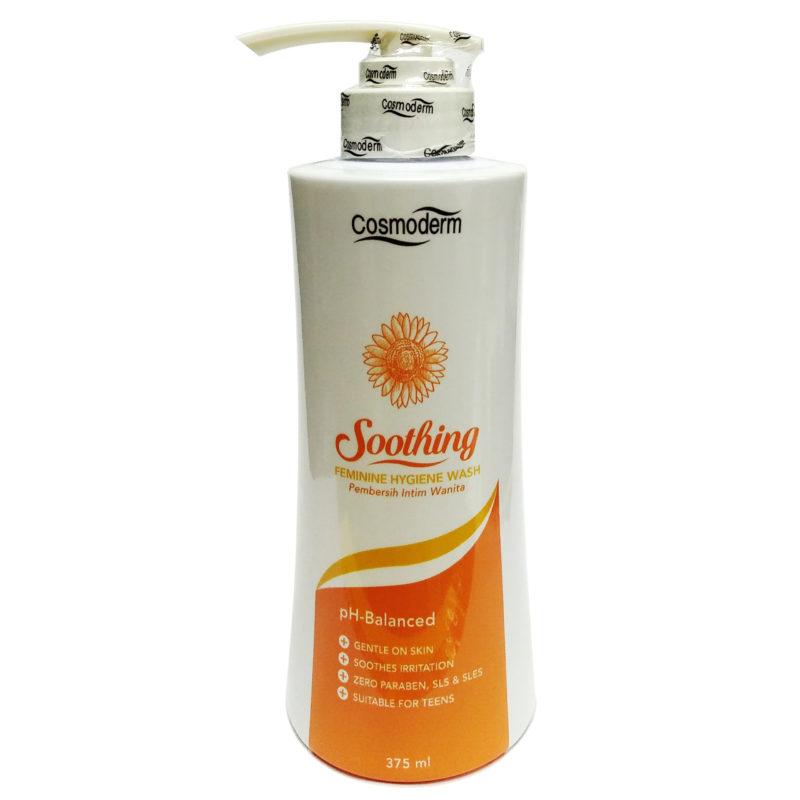 Cosmoderm Soothing Feminine Hygiene Wash (375ml)