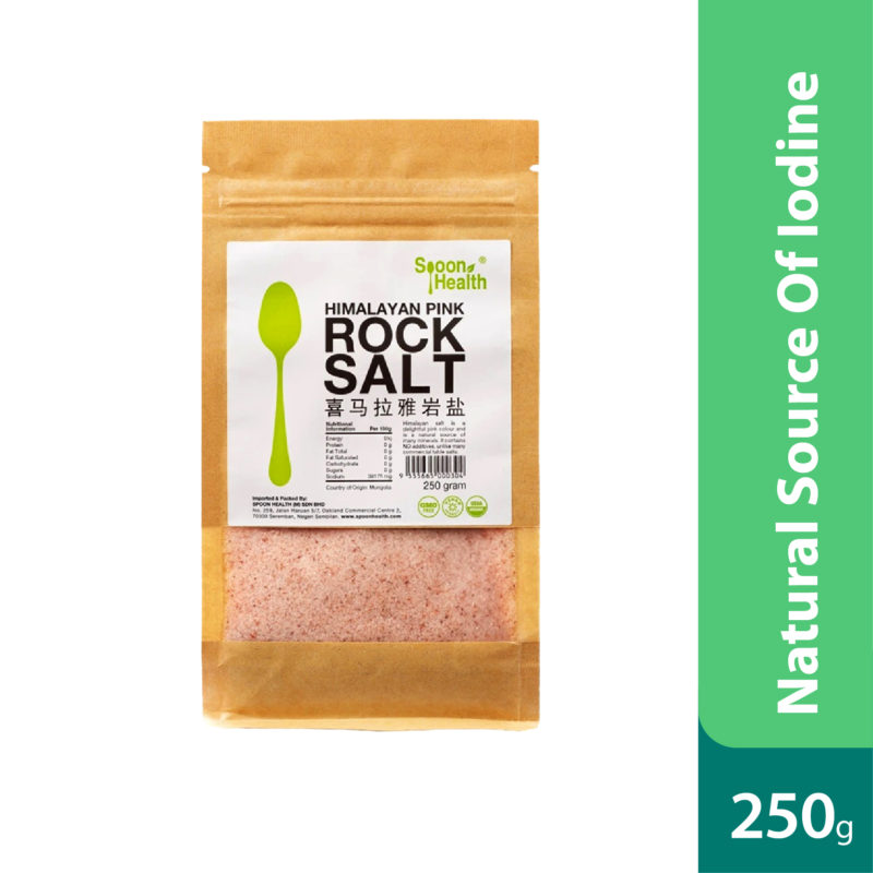 Spoon Health Himalayan Rock Salt 250g