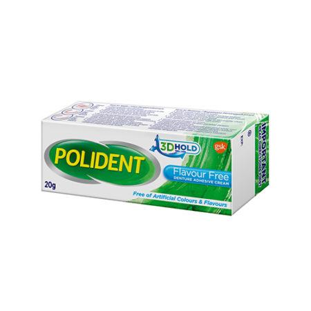 Polident Denture Adhesive Cream - Flavour Free (20g)