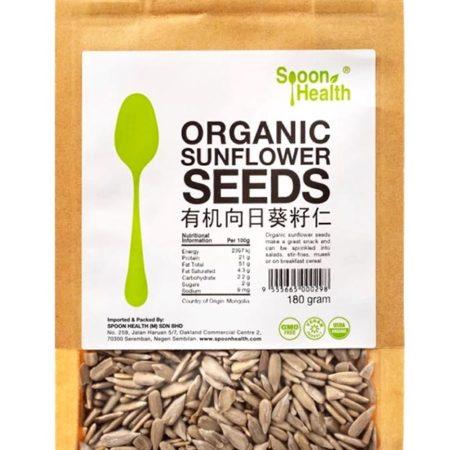 Spoon Health Organic Sunflower Seeds 180g