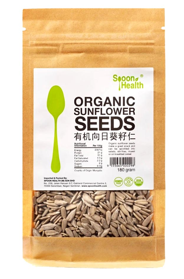 Spoon Health Organic Sunflower Seeds 180g
