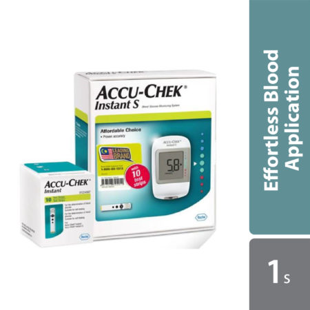 Accu-chek Instant S Starter Kit With 10 Test Strips