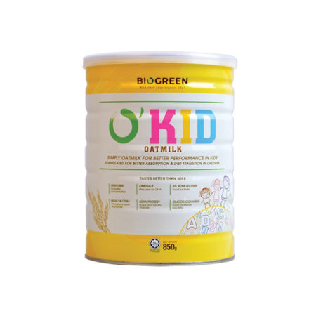 Biogreen O'kid Oatmilk (850g) Halal