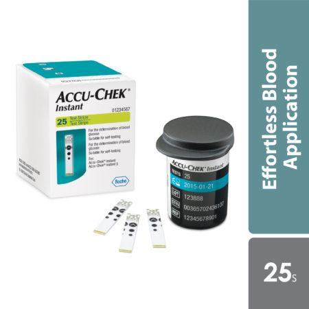 Accu-chek Instant S Strips 25s