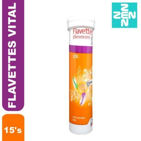 Flavettes Effervescent Vital Orange 15s