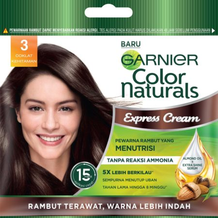Garnier Color Naturals Express Cream 3 Darkest Brown