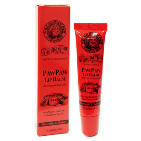 Grandpawpaw Lip Balm 10g With Manuka Honey 20+