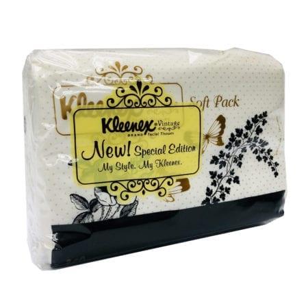 Kleenex Ft Vintage Soft Pack 3x50s