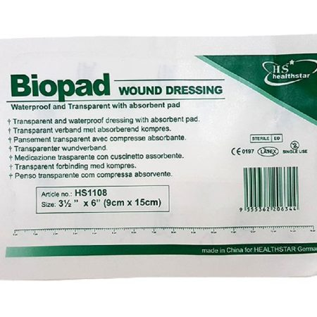 Biopad Wound Dressing 5cmx7cm 100s