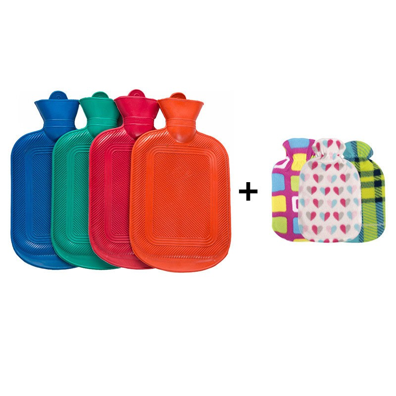 Prolife Hot Water Bottle With Cover, 2l 07 Zmc18-06
