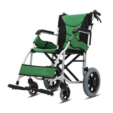 "Moven Lightweight Transport Wheelchair Q01labj (12"")"