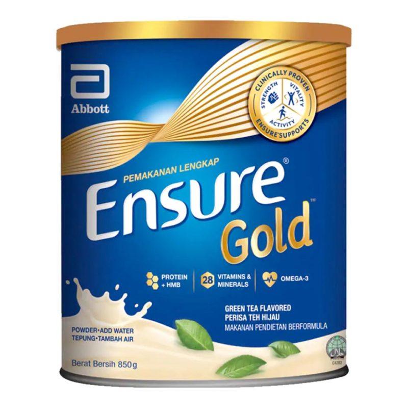 Abbott Ensure Gold Green Tea 850g