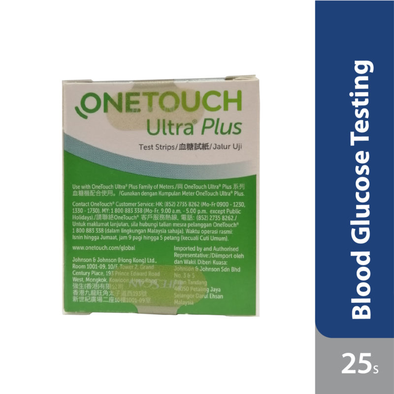 Onetouch Ultra Plus Test Strip 25s