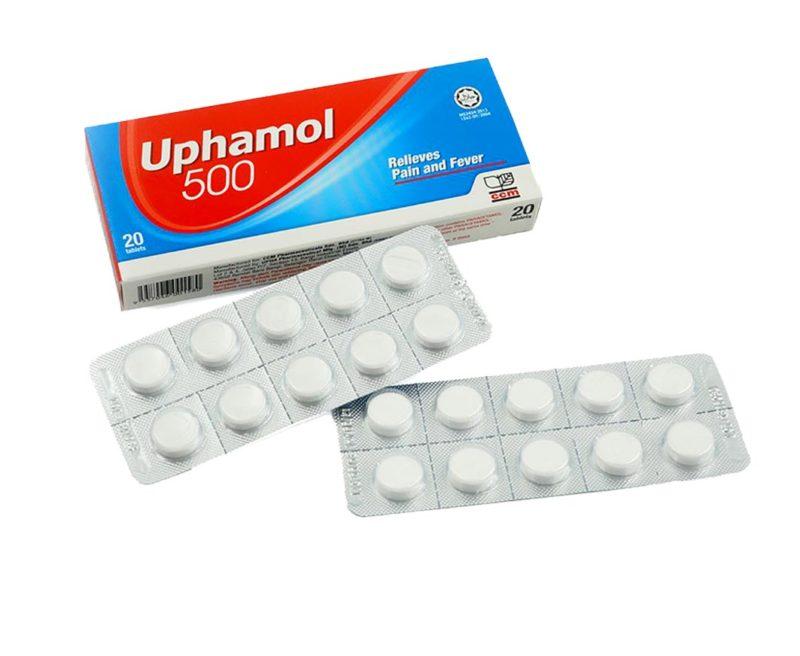 Uphamol 500mg 2x10s