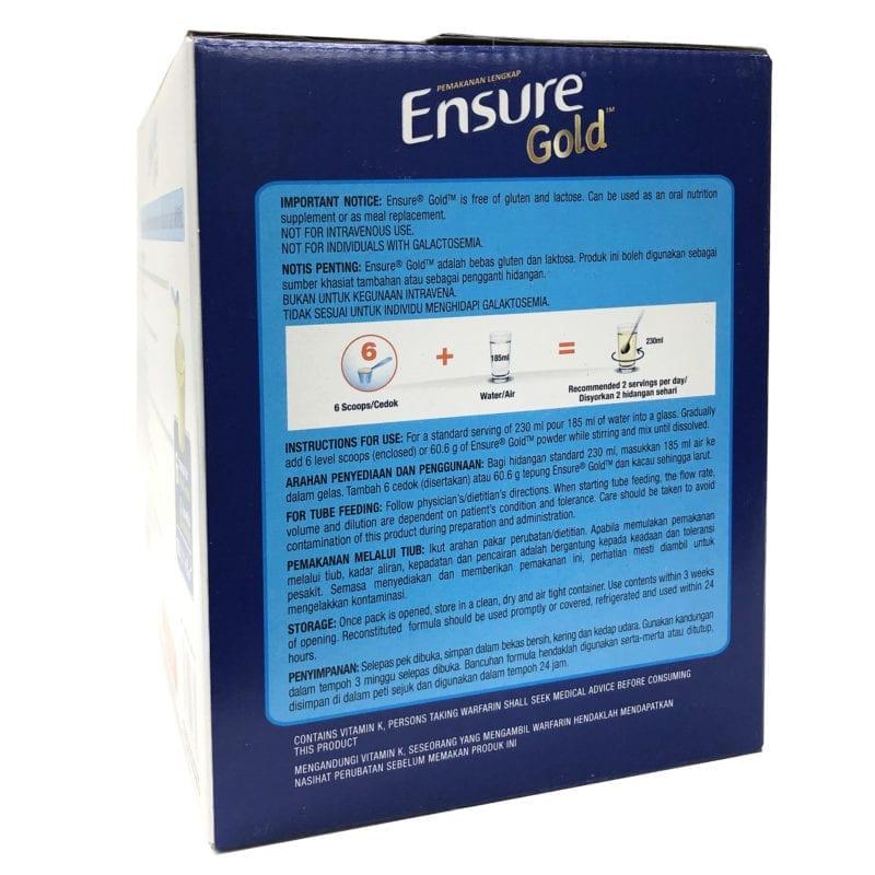 Abbott Ensure Gold Vanilla 1.6kg