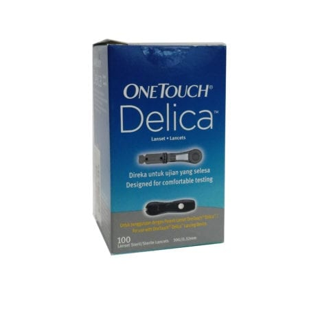 One Touch Delica Sterile Lancet 30g 100s