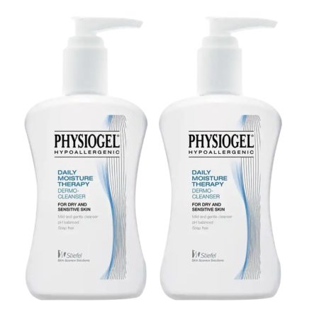 Physiogel Daily Moisture Therapy Dermo Cleanser 2x500ml W/free