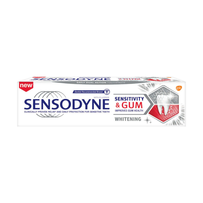 Sensodyne Sensitivity &gum Whitening 100g