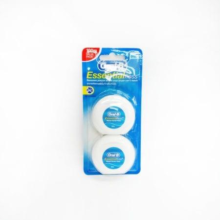 Oral B Waxed Dental Floss Mint 50m 2s