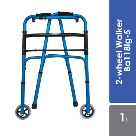 Anzen 2-wheel Walker Ba118lg-5