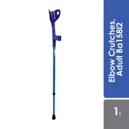 Anzen Elbow Crutches, Adult Ba158l2 1s