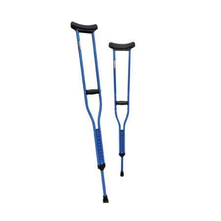 Anzen Alum Shoulder Crutches, Adult Ba108lm