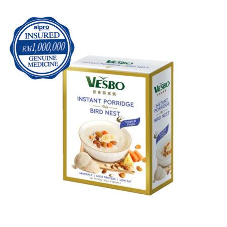 Vesbo Instant Porridge With Bird Nest (tropicana Fruits)