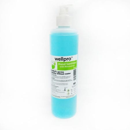 Wellpro Hand Sanitizer With Moisturizer 500ml