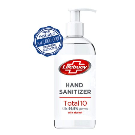Alpro Pharmacy One Click LIFEBUOY HAND SANITIZER 500ML