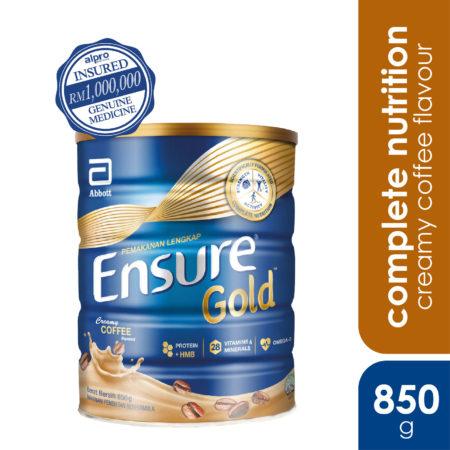 Abbott Ensure Gold Coffee 850g