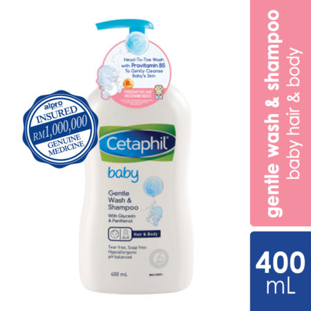 Cetaphil Baby Wash & Shampoo 400ml