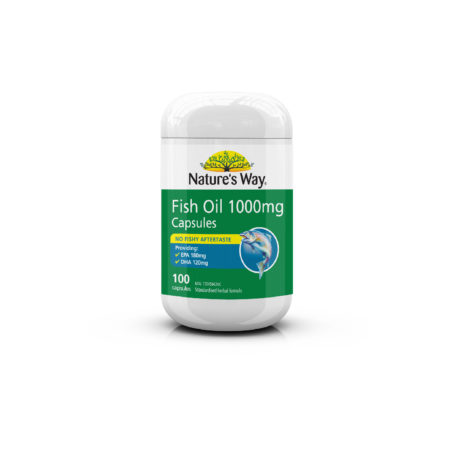 Natures Way Fish Oil 1000mg 100s