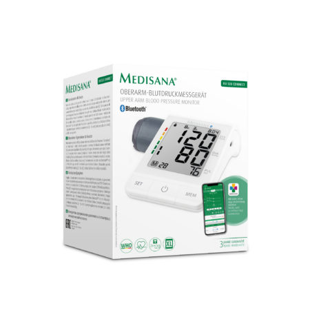 Medisana BU530 Connect Bluetooth Digital Blood Pressure Monitor