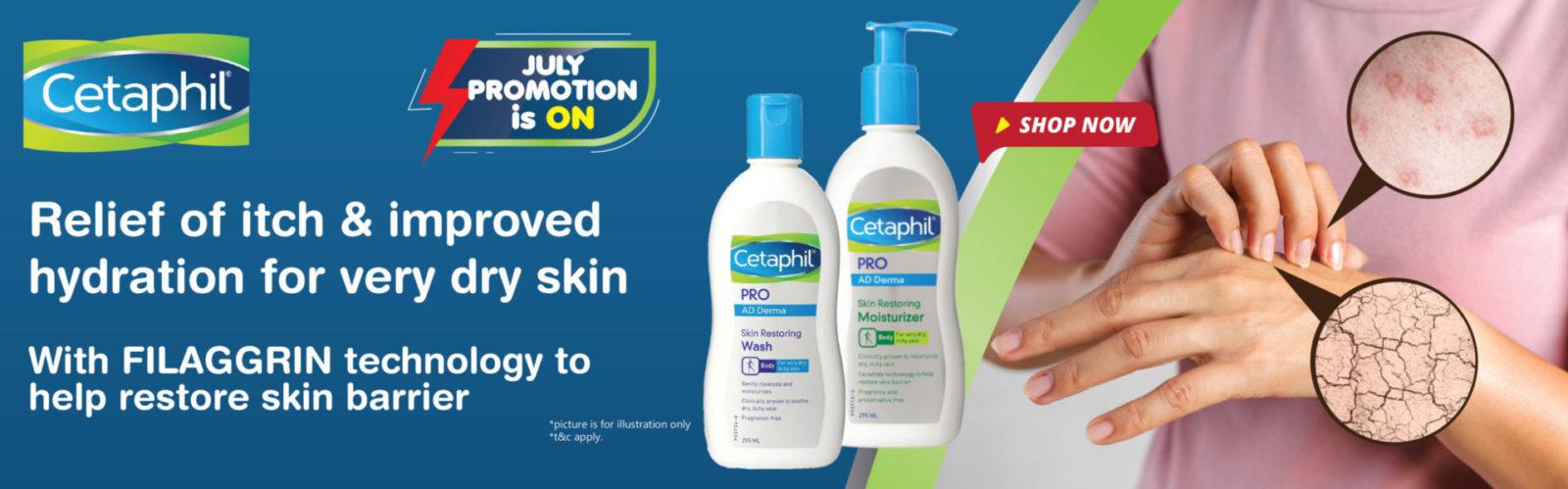 Alpro Pharmacy One Click Cetaphil range july promotion-01