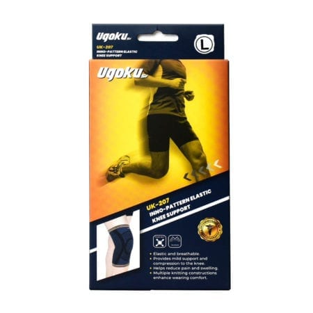 Ugoku Inno-pattern Elastic Knee Support Uk-207